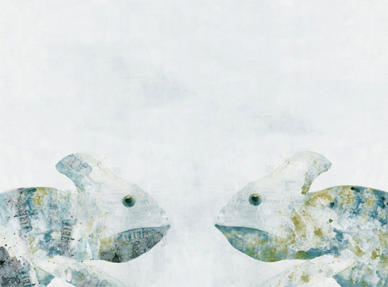 art prints - Meeting a Friend by Agata Wojakowska