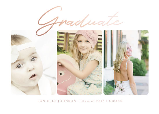 graduation announcements - oh how the years go by by Danielle Ellan
