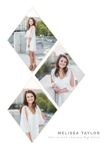 graduation announcements - Rising Star by Danielle Ellan