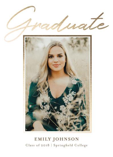 graduation announcements - All Done! by Danielle Ellan