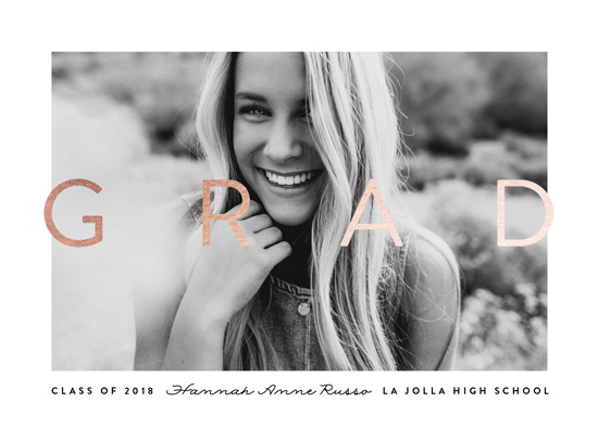 graduation announcements - Out On Top by Erica Krystek