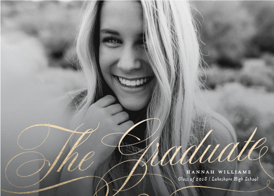graduation announcements - Paramount by Sarah Brown