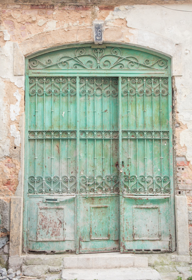 art prints - Mint Door by 5·2·7 Photo