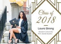 Classy Graduation Annou... by Natalie H