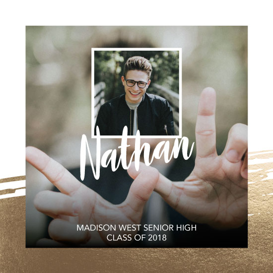 graduation announcements - Photo Snap by Kimiyo Prints