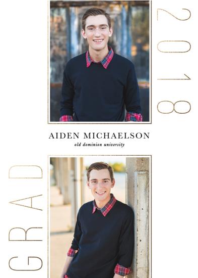 graduation announcements - Clean Columns by Brandy Folse