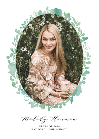 graduation announcements - Framed by Florals by Brandy Folse