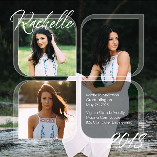 graduation announcements - Grad Photo Collage by Kimiyo Prints