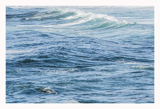 art prints - Pacific Blue 3 by Rebecca Rueth