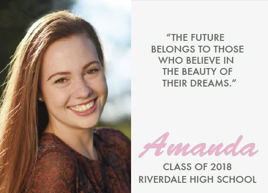 graduation announcements - Beautiful by Aleksandra Vujkov