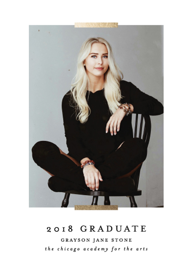 graduation announcements - Refinement by Lehan Veenker