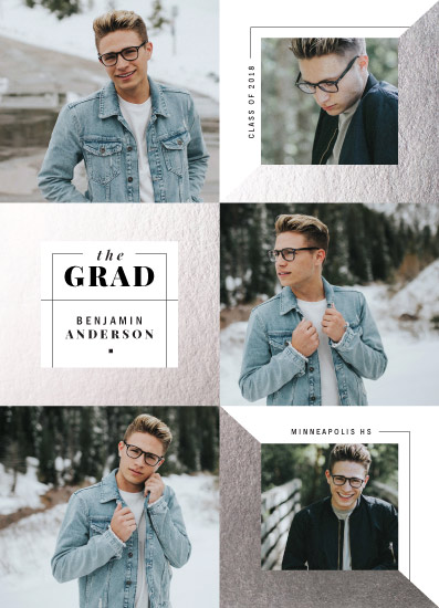 graduation announcements - Boxout by The Modern Collective