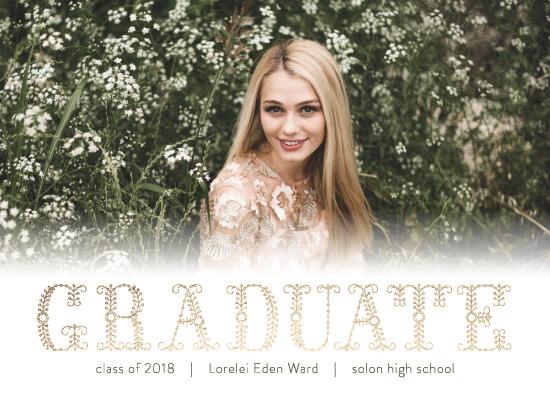 graduation announcements - Caprice by Sovelle