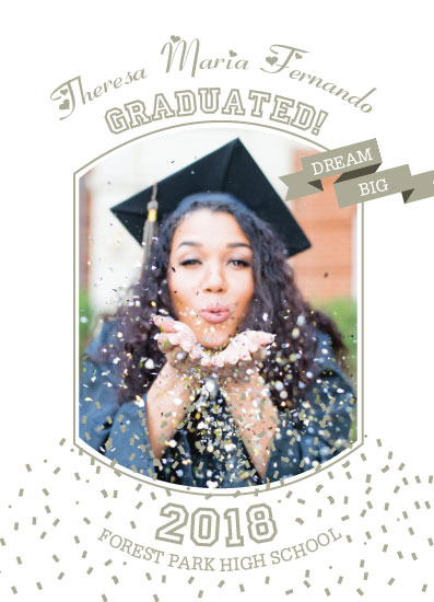 graduation announcements - Confetti by Noma Maluzo