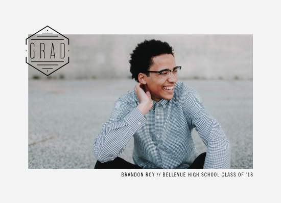 graduation announcements - Seal of Approval by Olivia Goree
