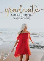 Graduate in Gold by Carlota Suaco