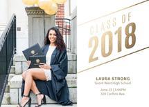 2018 Graduate Announcem... by Natalie H