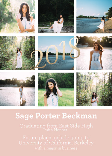 graduation announcements - Photo Phantastic by Bekah Beckman