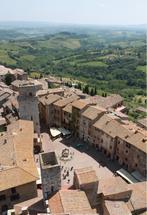 San Gimignano Italy by Kelly Corcoran