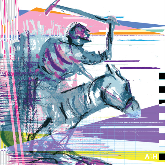 art prints - Polo 2 by Henri Martinez