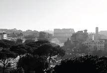 Colosseum Skyline by Kelly Corcoran