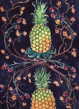 Two Pineapples by Cathleen Earle