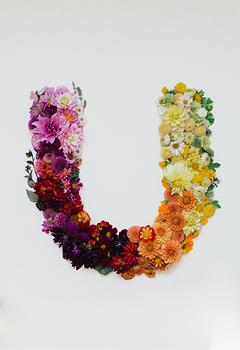 Floral U
