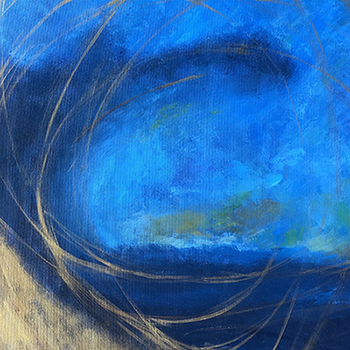 art prints - Deep Blue by Kristen Jasper