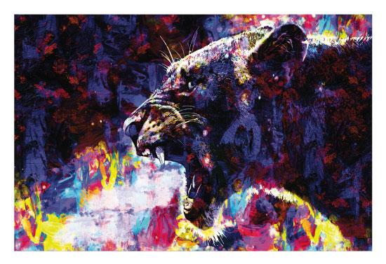art prints - A Roar of Colors by Jeff Walzer