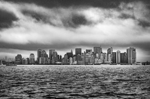 art prints - High Drama New York Skyline by Von Sides