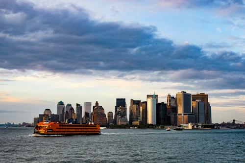 art prints - New York Harbor by Von Sides