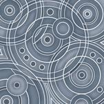 White Circles by Debbie Quist