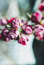 Dried Roses by Helen Makadia Photography