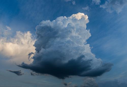 art prints - Big Blue Cloud by Lee Dunnie