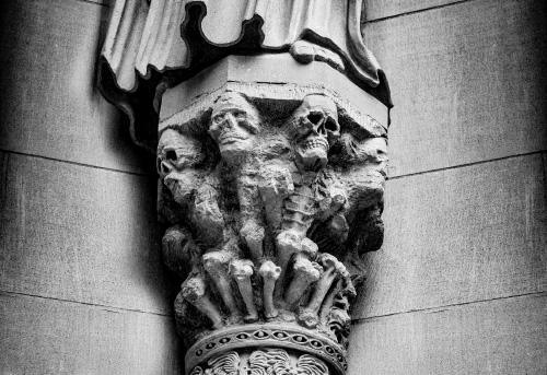 art prints - Gothic Skulls by Von Sides