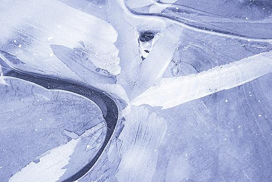 art prints - Ice Burst by Agnes Barta
