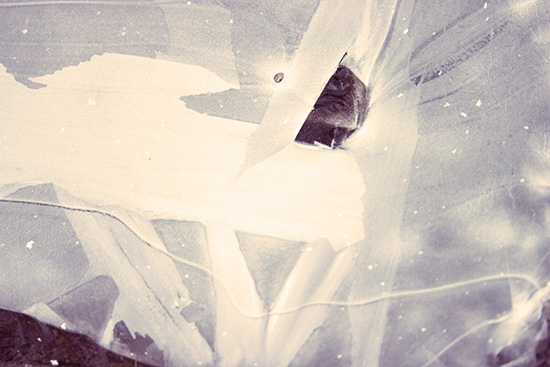 art prints - Ice Burst II by Agnes Barta