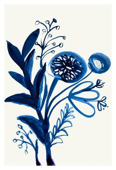 Stylized Gestural Flowers 4
