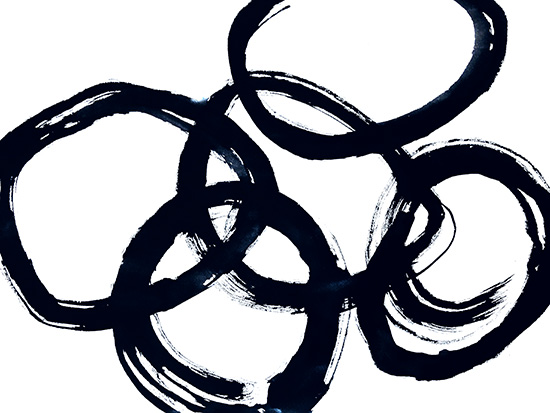 art prints - Running in CIrcles by Roann Mathias