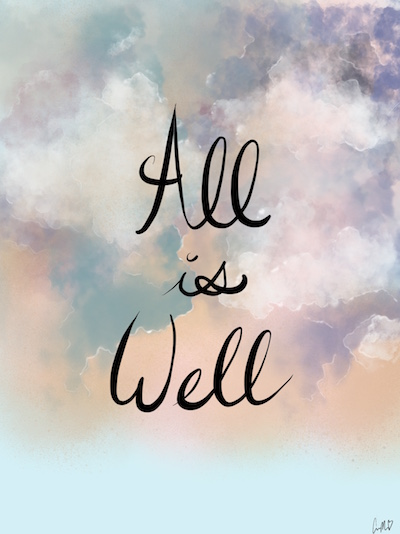 art prints - All Is Well by Callie Mills