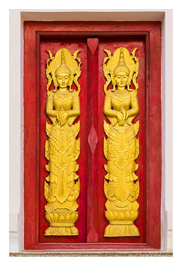 art prints - Ancient Temple Doors. by Leslie Ware