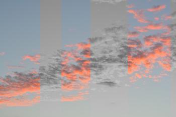 In Between Clouds