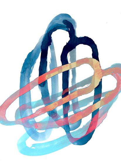 art prints - Circular Movement by Roann Mathias