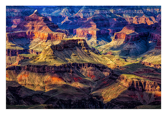 art prints - Afternoon Glow on Isis Pyramid, Grand Canyon, Az by Leslie Ware