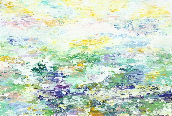 art prints - Sun through floral canopy by Jasmine Mills