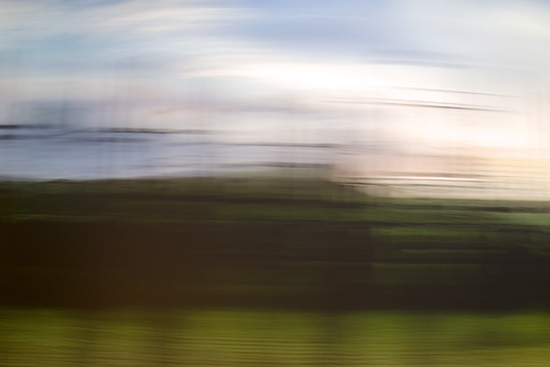 art prints - On the train by Agnes Barta