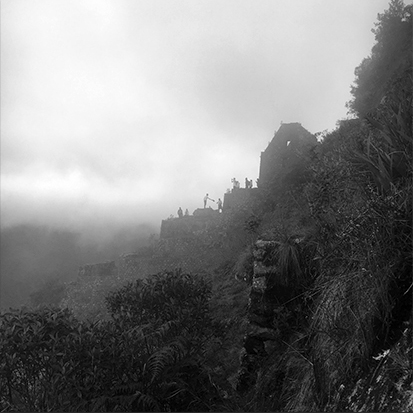 art prints - Fog in Ruins by Tania Cenzano
