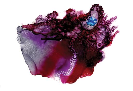 art prints - Vibrant Cosmos by AT ORIGINALS