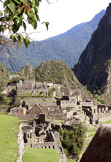 art prints - Machu Picchu Angles by Tania Cenzano