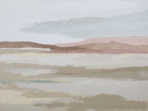 art prints - Blushing Expanse by Kati Ramer